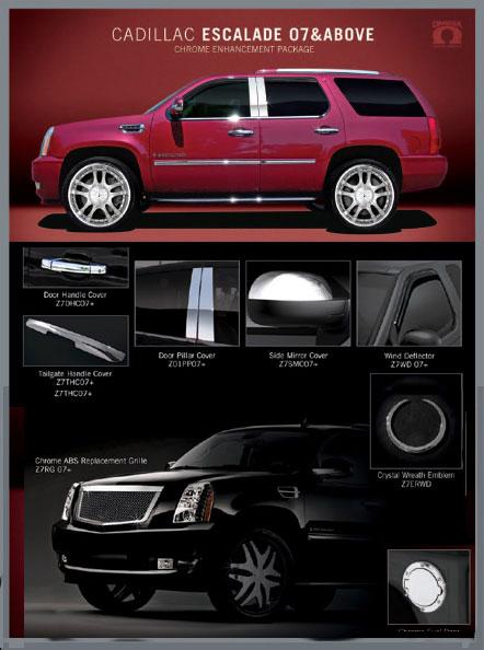 Cadillac Escalade Accessories - 2007 2008 2009 2010 ...