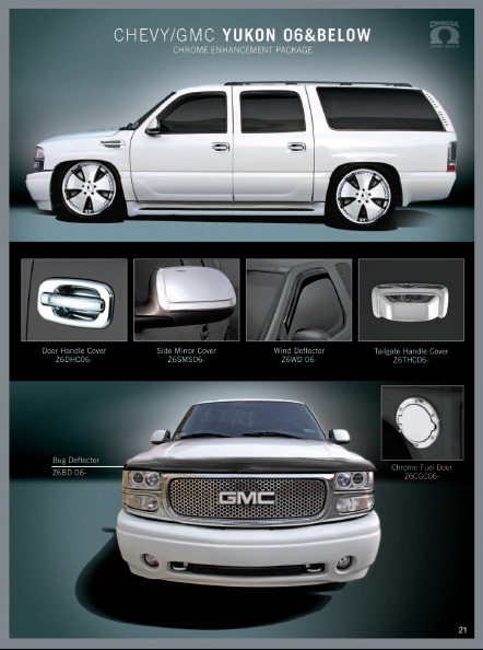Gmc Yukon Accessories Grills Custom Emblems