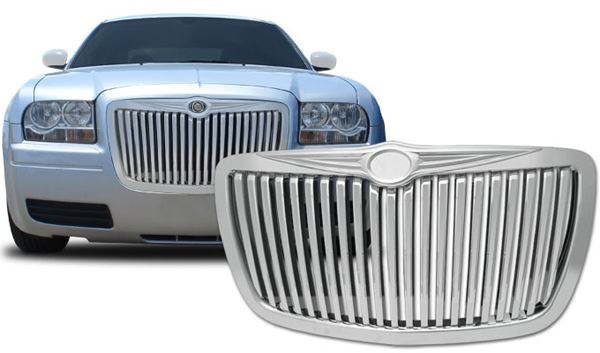 Chrysler 300 Accessories Chrysler 300 Grills Iced Out Diamond