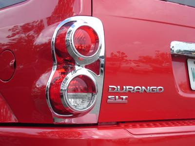 Dodge Durango Tail Light Trim Chrome 2004 2005 2006 2007 2008 2009