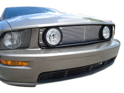 Ford Mustang Chrome Grill W Lamps 2005 2006 2007 2008 2009 2010