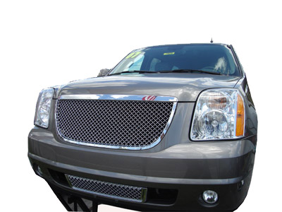 Gmc Yukon Accessories Custom 2007 2008 2009 2010 Aftermarket Parts Chrome Grills Vertical