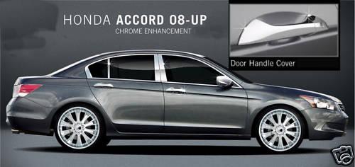 Honda Accord Chrome Door Handles 2007 2008 2009 2010 Pair Of Four