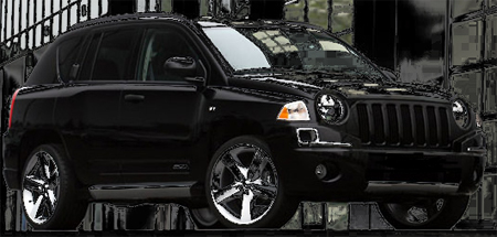 Jeep Compass Accessories, Jeep Compass Chrome Door Handle Covers, Jeep  Compass Aftermarket Parts, Custom Caliber Door Handels, Chrome Mirror Covers